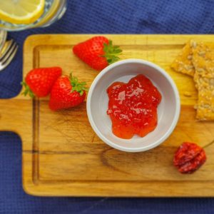 Red Habanero & Strawberry Chilli Jam - Welsh Smokery
