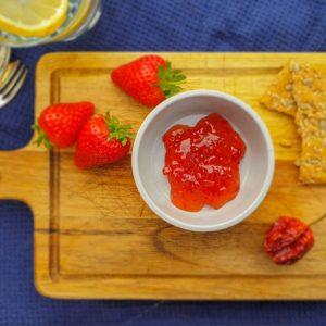 Red Habanero & Strawberry Chilli Jam - Welsh Smokery