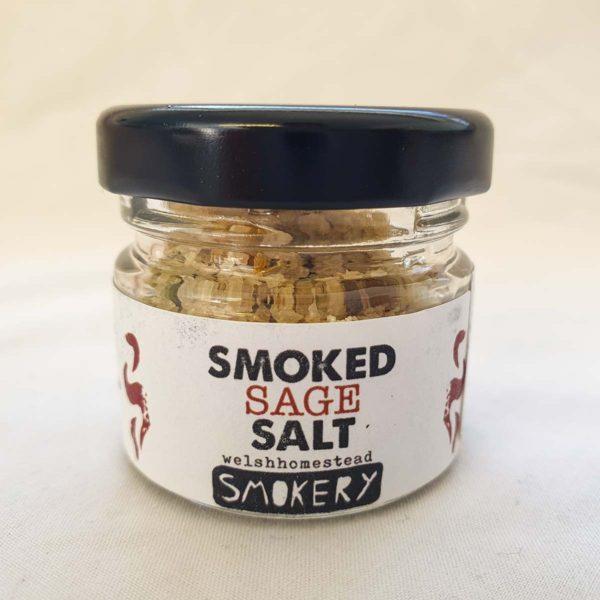 Smoked Sage Salt - Welsh Smokery
