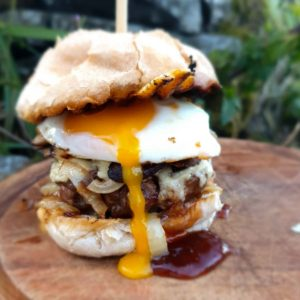 Smokey Bacon Beef burger